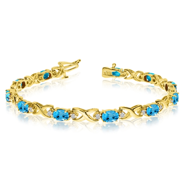 Are White Gold Topaz Bracelets Trendy?